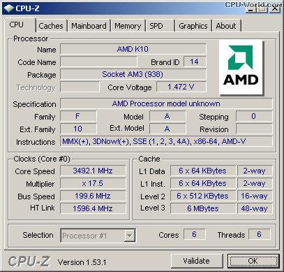 AMD Phenom II X4 970 freigeschalten