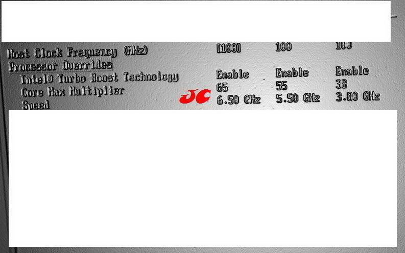 Multiplikatorwahl im BIOS