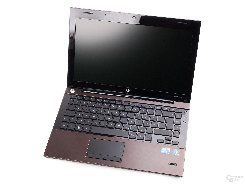 HP ProBook 5320m: Display und Tastatur