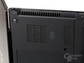 HP ProBook 5320m: Lüfteröffnungen