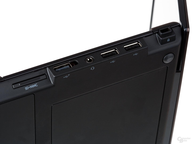 HP ProBook 5320m: Anschlüsse