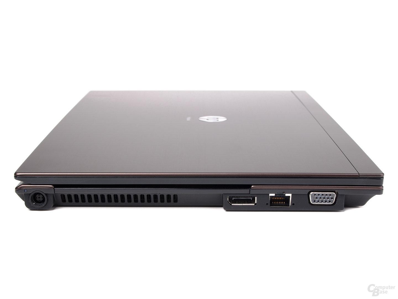 HP ProBook 5320m von der linken Seite