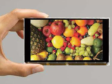 "4,8""-Display mit Full HD"