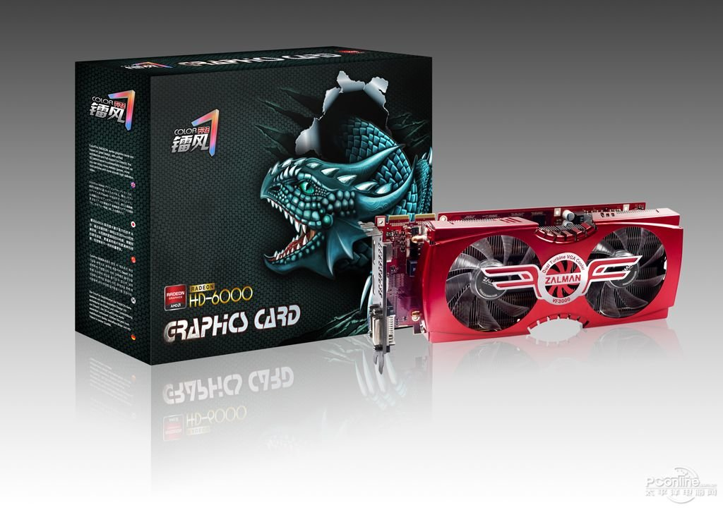 AMD Radeon HD 6850 mit Zalman VF-3000A