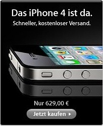 Apple iPhone 4-Werbung
