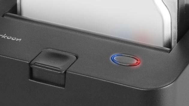 Sharkoon SATA QuickPort im Test: USB-3.0-Dockingstation mit UAS-Treiber