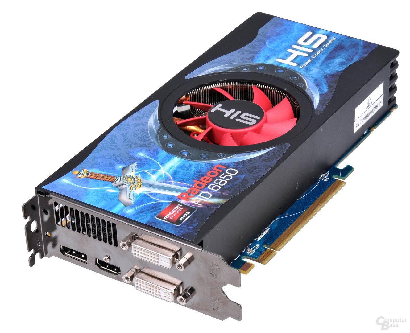 HIS Radeon HD 6850 FAN 1 GB