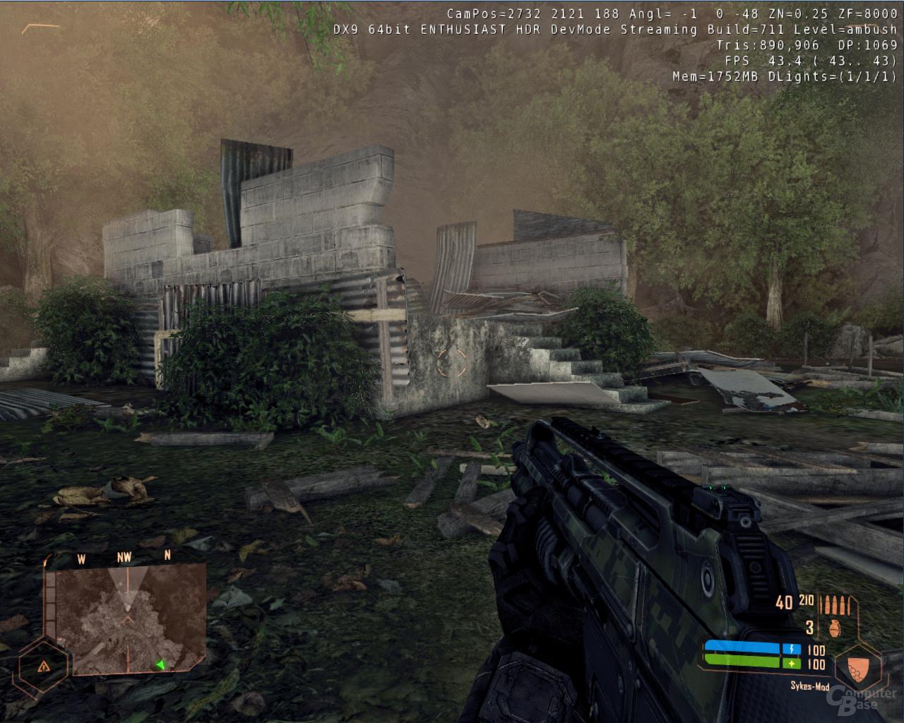 Crysis Warhead – MLAA