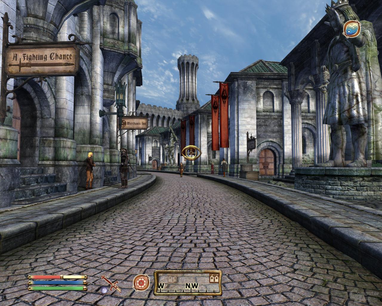 Nvidia GF100 Oblivion - 16xHQAF