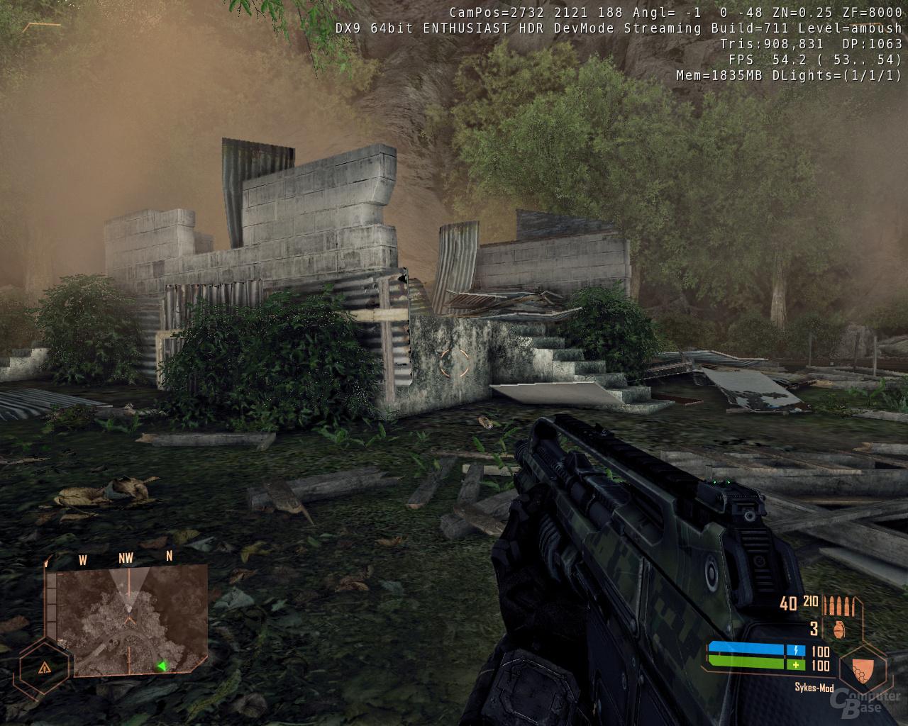 Crysis Warhead - 1xAA