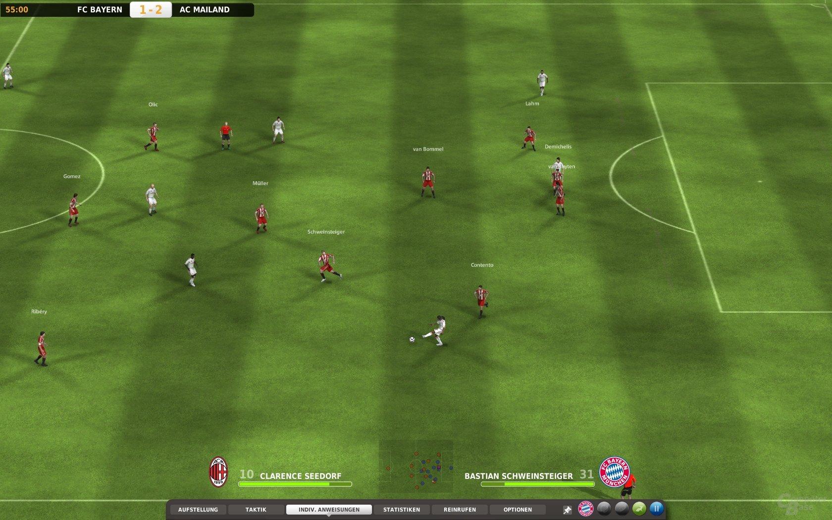 """""""Fußball Manager 11"""" – 3D Modus"""