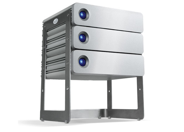 LaCie d2 USB 3.0 im Rack