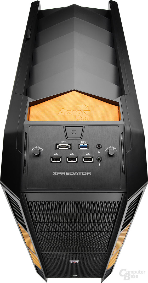 Aerocool XPredator – Front