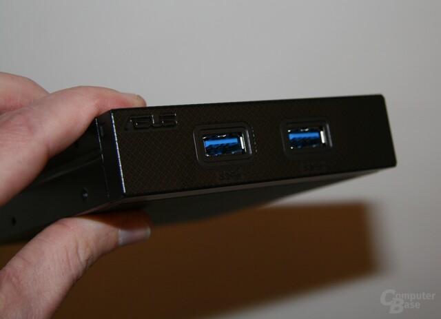 USB 3.0 für den Schacht des Diskettenlaufwerks