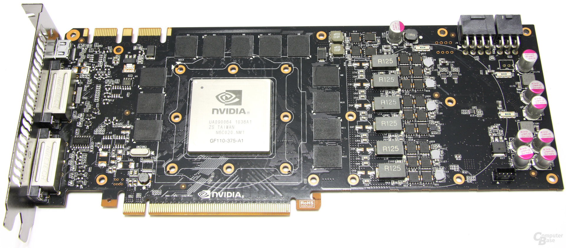 GeForce GTX 580 ohne Kühler