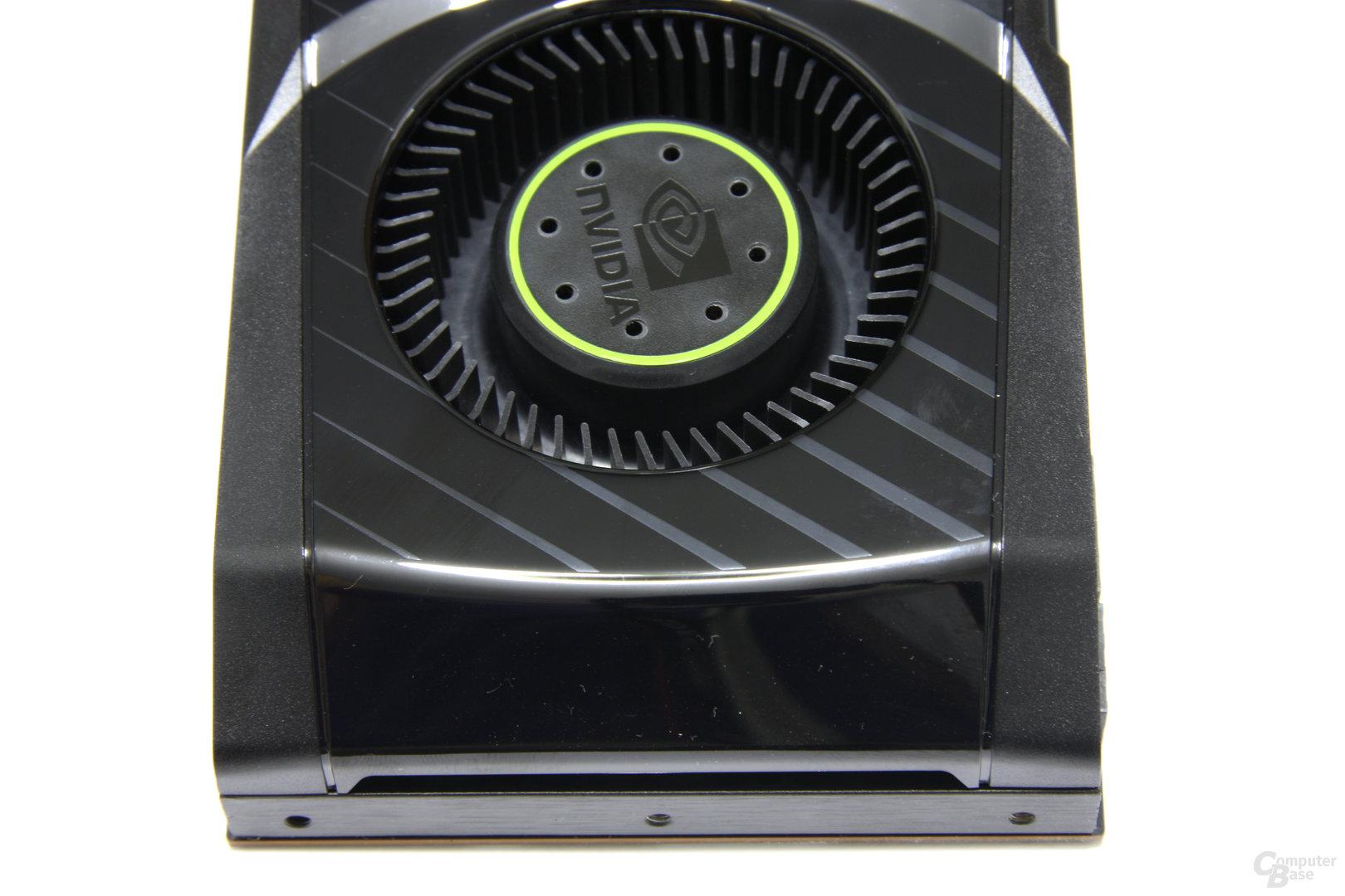 GeForce GTX 580 von oben