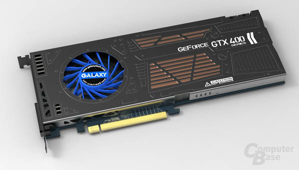 Galaxy GeForce GTX 460 mit Single-Slot-Kühlung