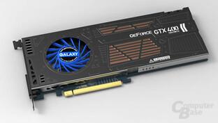 Galaxy GeForce GTX 460 mit Single-Slot-Kühlung