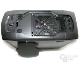 Corsair Graphite 600T – Demontierte Lüfterabdeckung Deckel