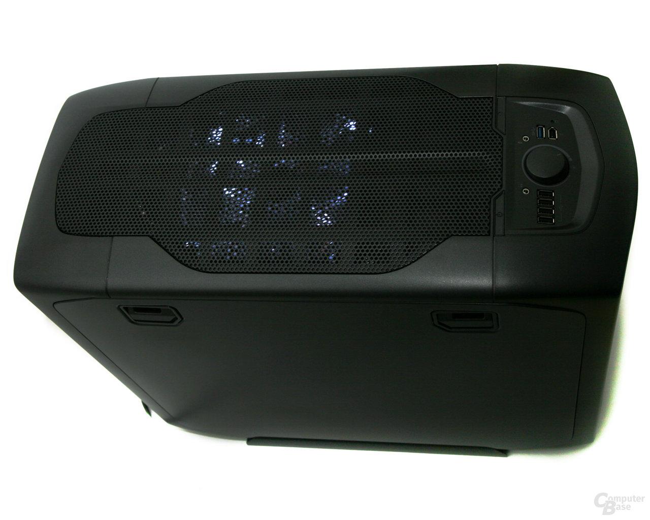 Corsair Graphite 600T – Beleuchtung Deckel