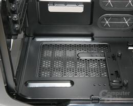 Corsair Graphite 600T – Aufnahme Netzteil