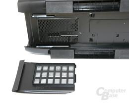 Corsair Graphite 600T – Staubfilter Netzteil