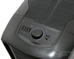 Corsair Graphite 600T – Port-Kit und Lüftersteuerung