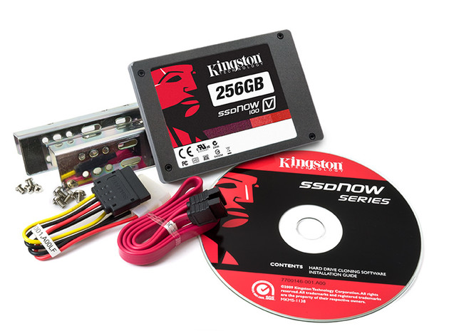 Kingston SSDNow V100 256 GB Desktop-Bundle