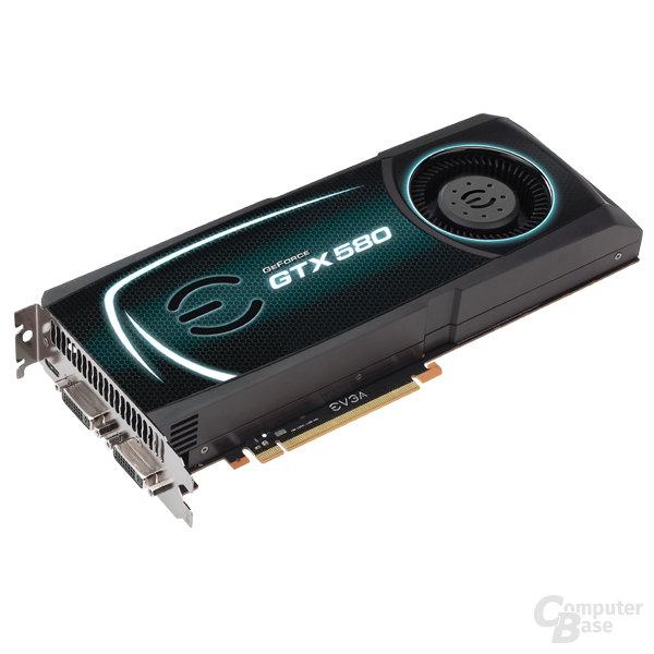 EVGA GeForce GTX 580 Superclocked