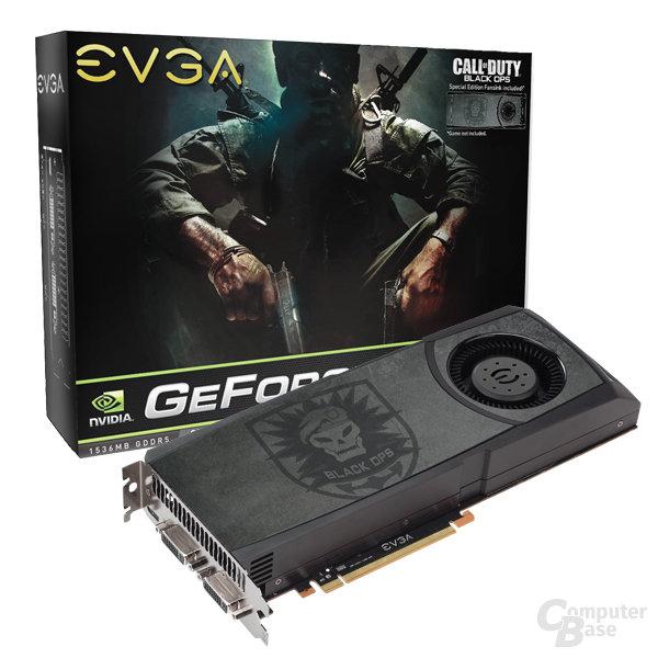 EVGA GeForce GTX 580 Call of Duty: Black Ops Edition