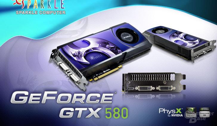 Sparkle GeForce GTX 580