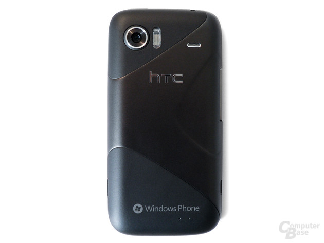 Rückseite des HTC Mozart