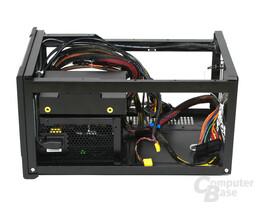 Silverstone SST-SG07B Sugo – demontierter Laufwerkhalter