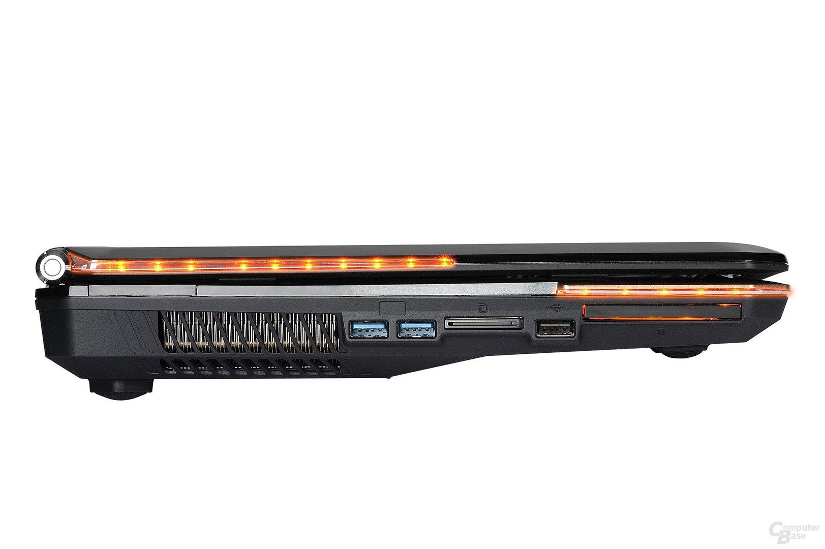 MSI GT663: Profil