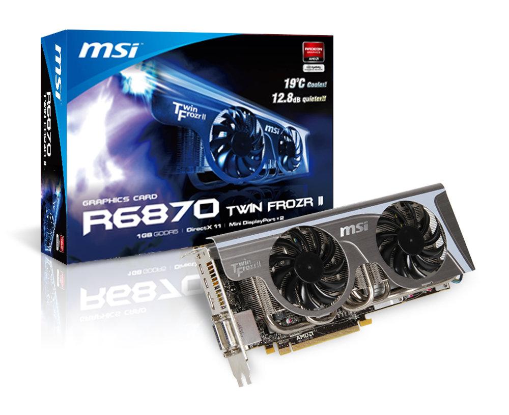 MSI R6870 Twin Frozr II