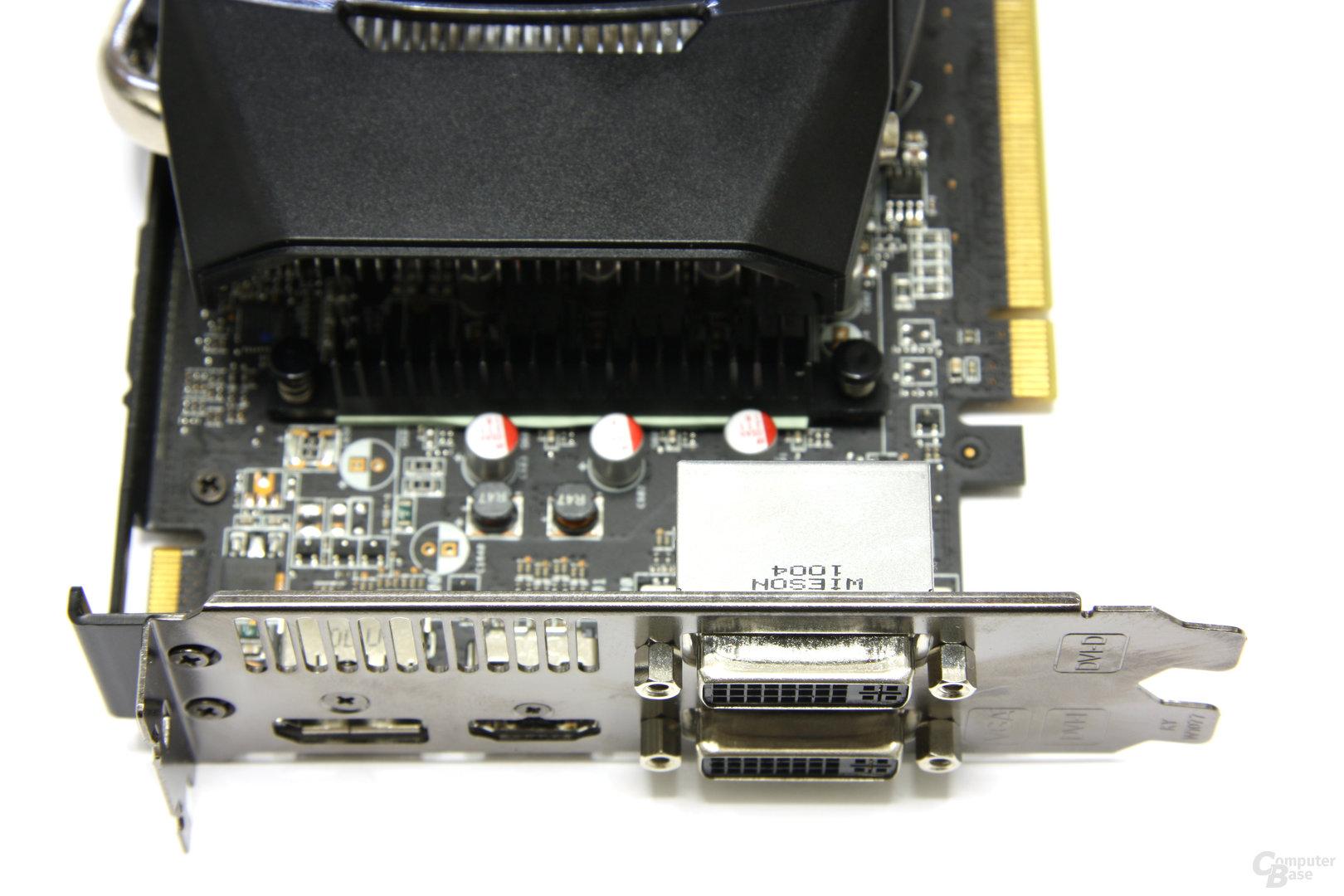 Radeon HD 6850 Anschlüsse