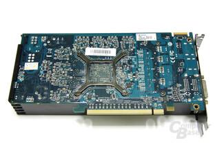 Radeon HD 6850 Rückseite