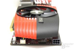 Radeon HD 6850 von hinten