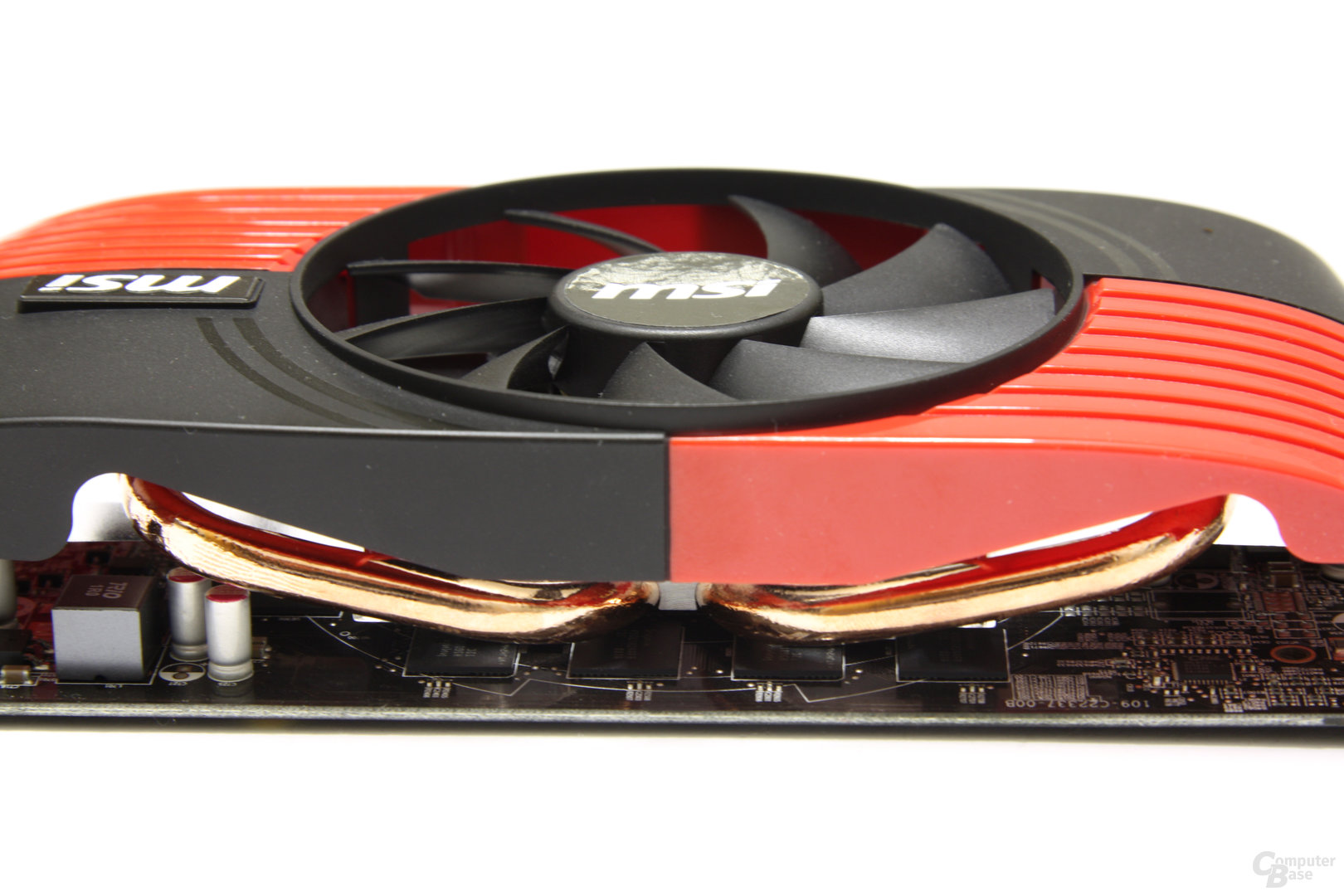 Radeon HD 6850 Heatpipes