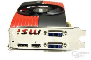 Radeon HD 6850 Slotblech