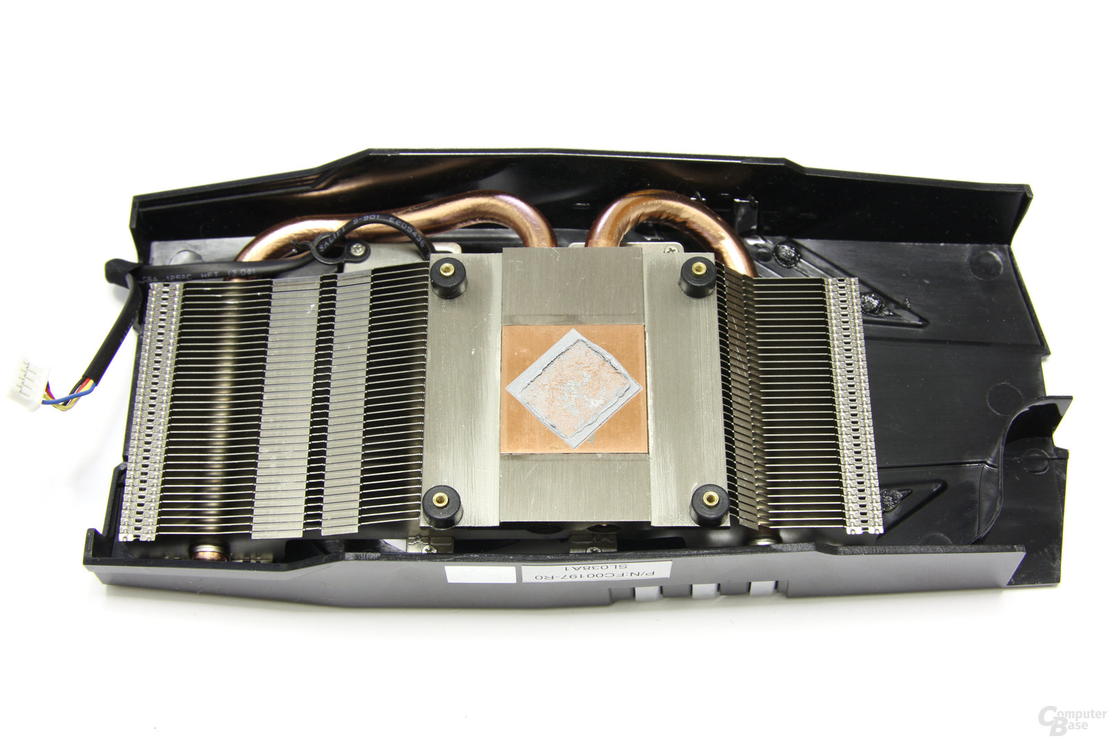 Radeon HD 6850 Kühlerrückseite
