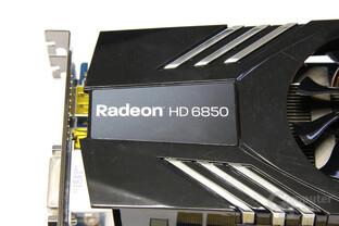 Radeon HD 6850 Schriftzug