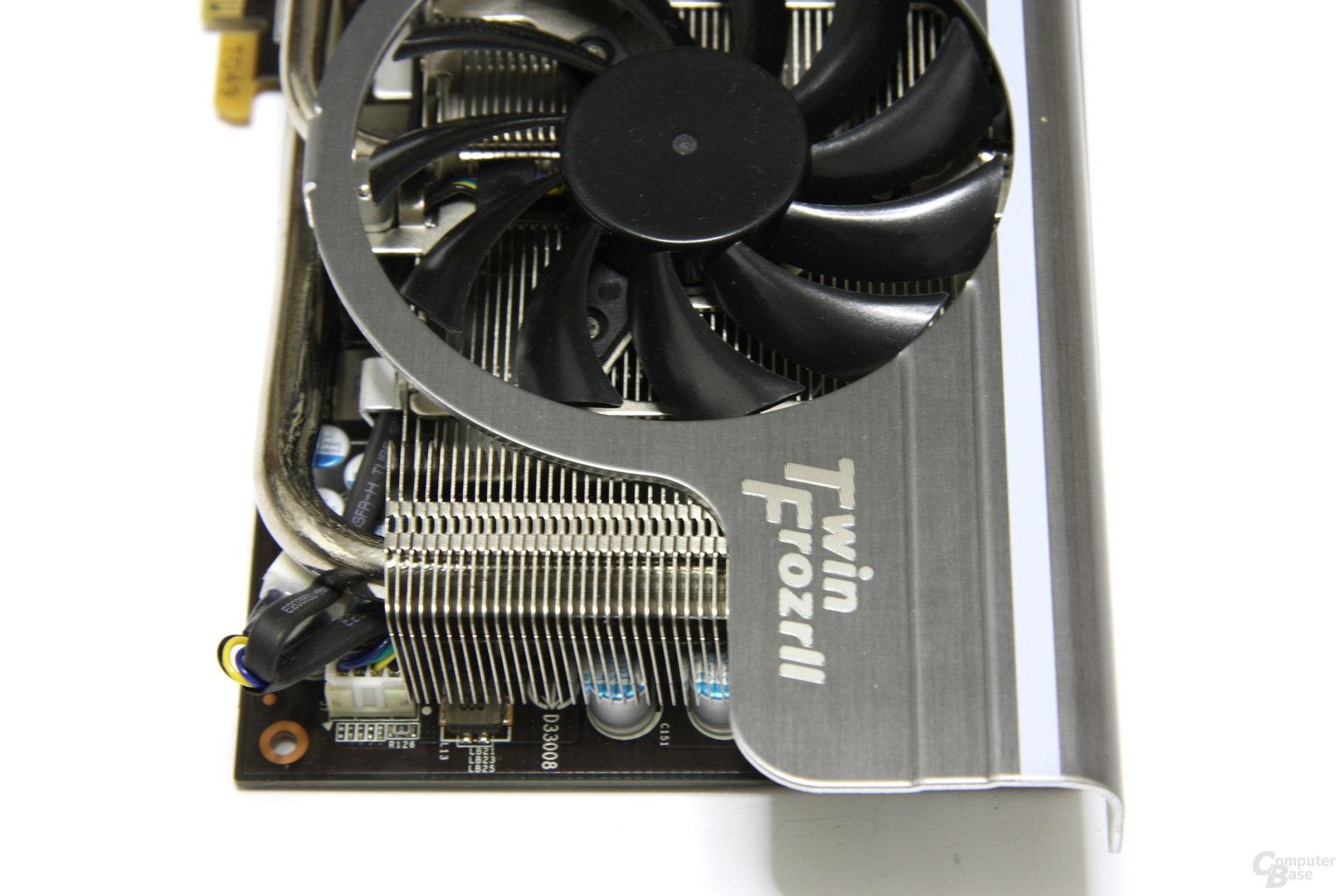GeForce GTX 470 Twin Frozr II von oben
