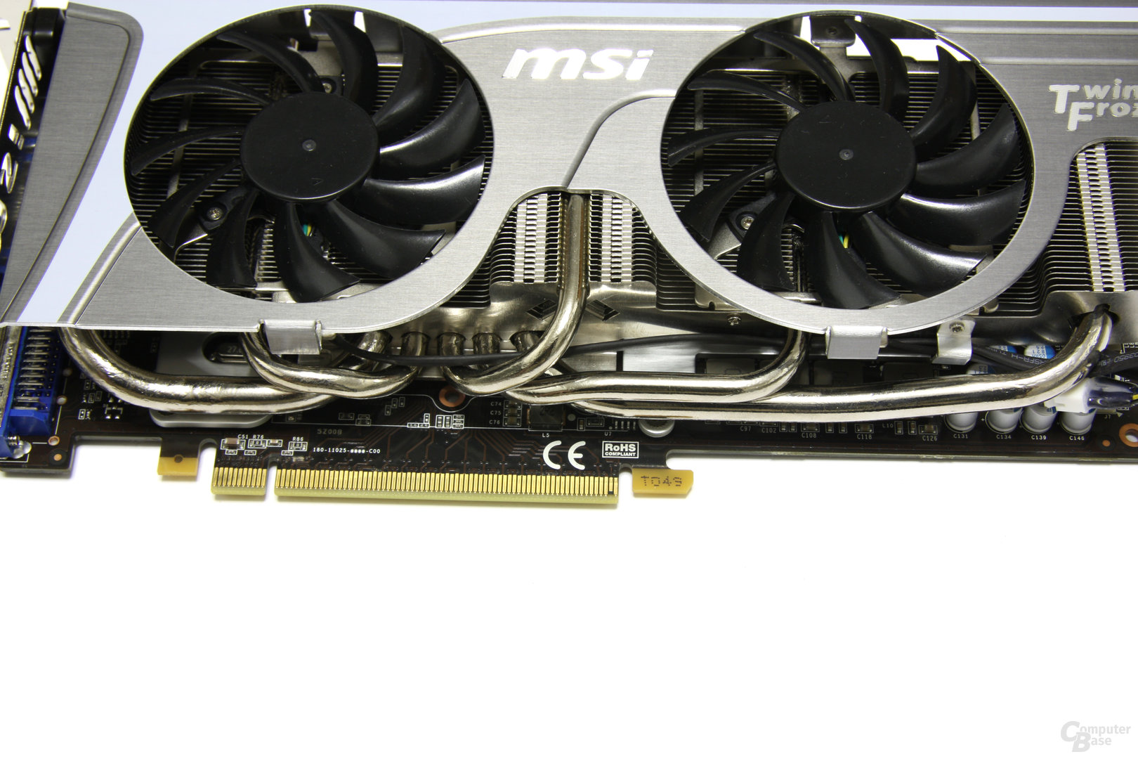 GeForce GTX 470 Twin Frozr II Heatpipes 2