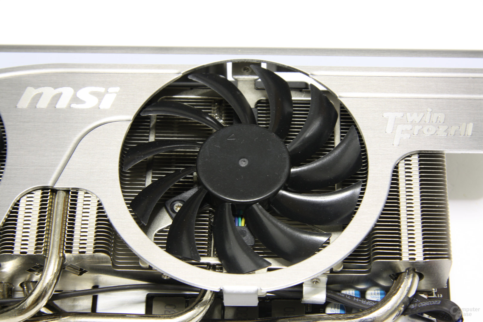 GeForce GTX 470 Twin Frozr II Lüfter