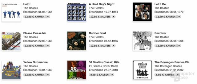The Beatles bei iTunes