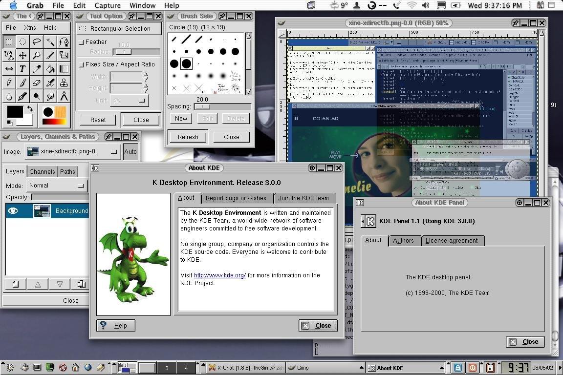 KDE für OS X
