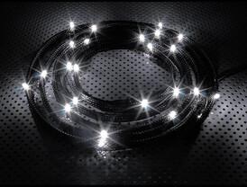 NZXT CB-LED20-WT 24x White LED Sleeve - 2m