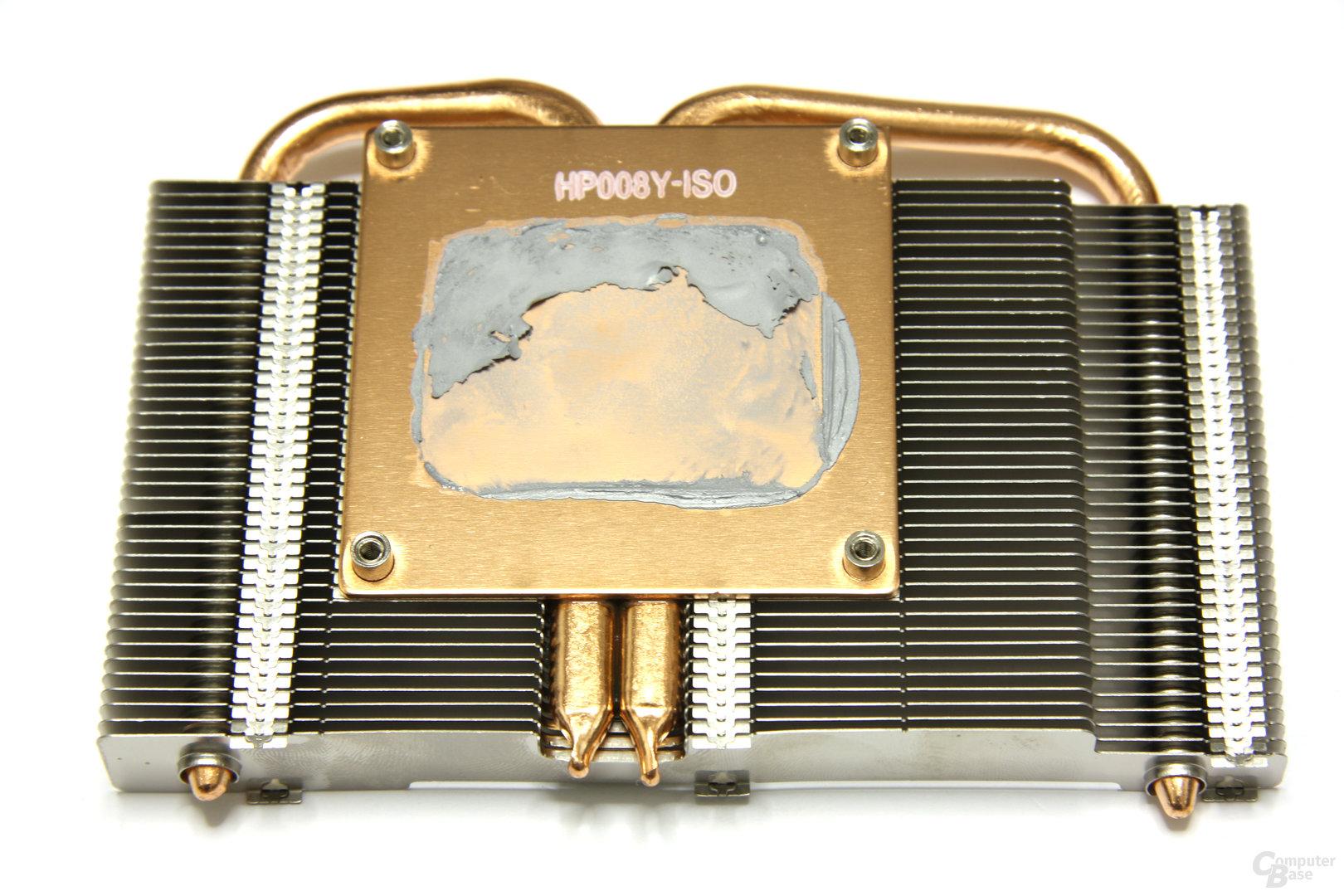 GeForce GTX 460 GS 2GB Kühlerrückseite