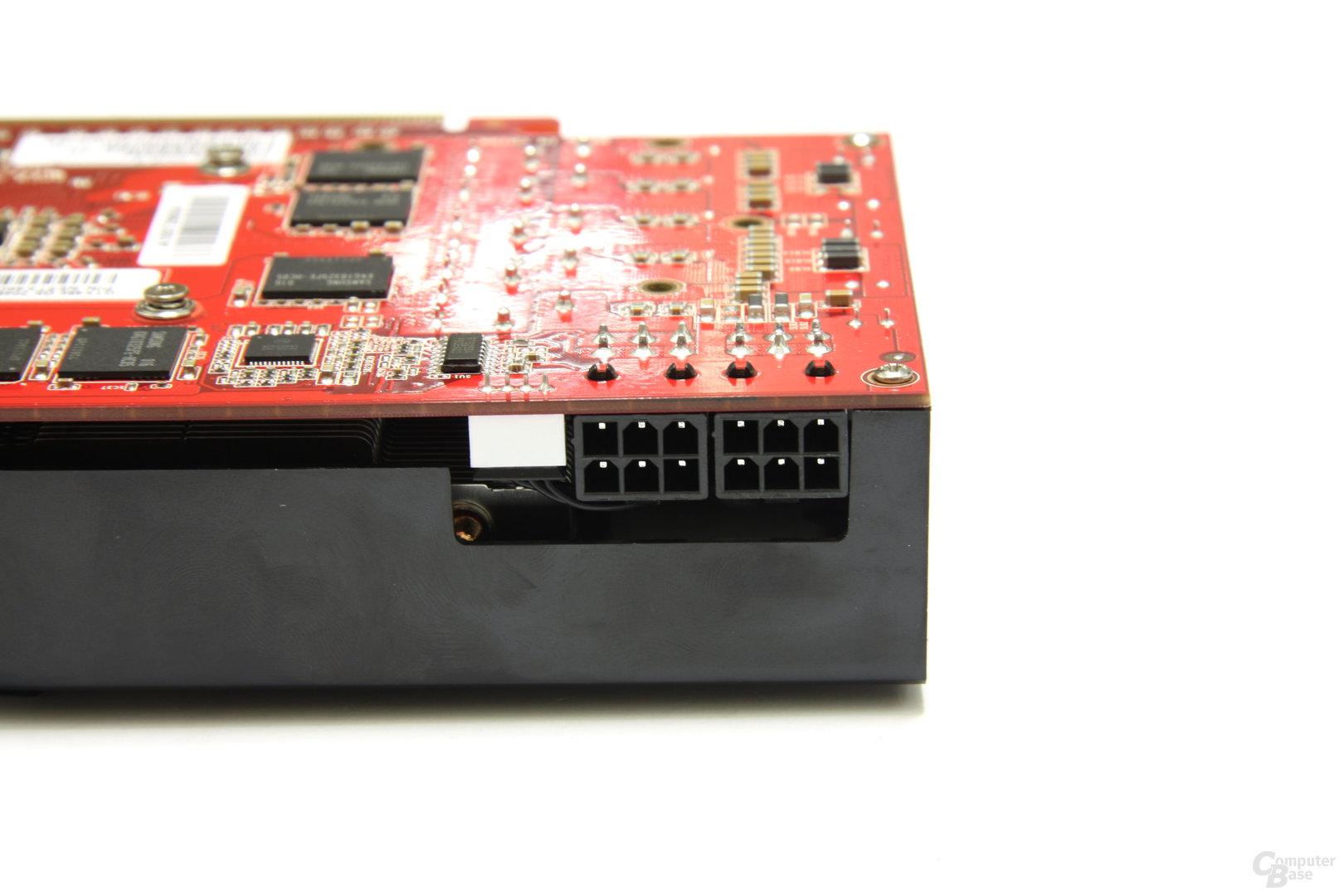 GeForce GTX 460 GS 2GB Stromanschlüsse